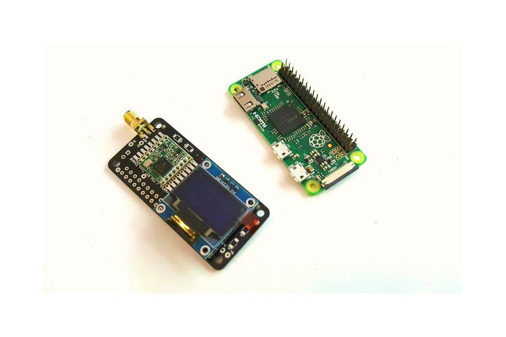 LoRaWAN/TTN Kit for the Raspberry PI 4