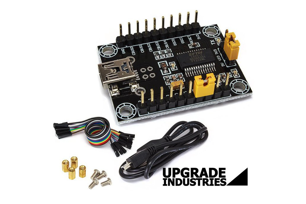 Real FTDI USB Serial RS232 UART Converter 5V 3V3 1