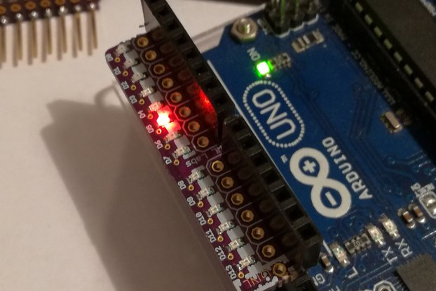 LED Diodes Debugger Shield for Arduino