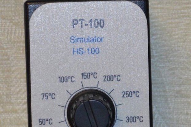 RTD simulator / calibrator & tester in °C or °F PT