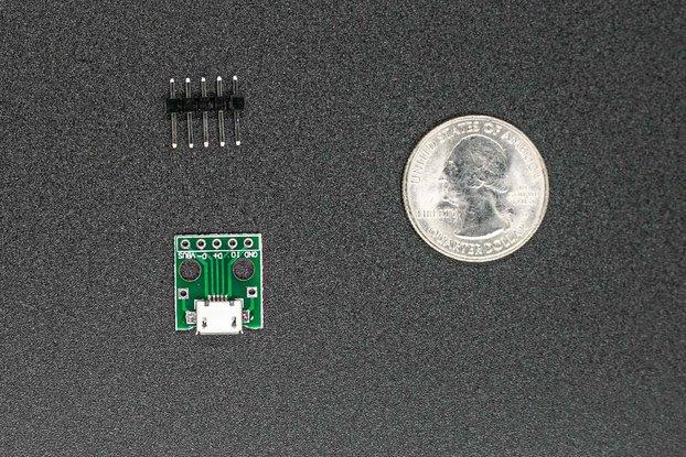 Micro USB Breakout Module