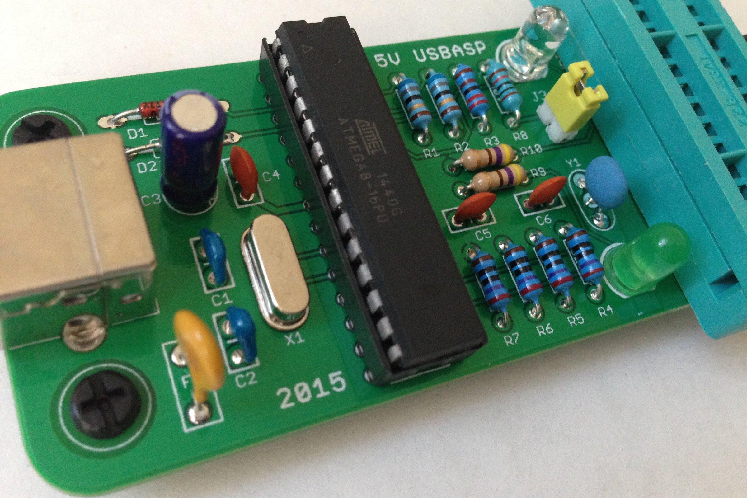 Build Your Own Usbasp From Ptudor On Tindie Atmel Usb Programmer Circuit Zif Socket Atmega8 2 4
