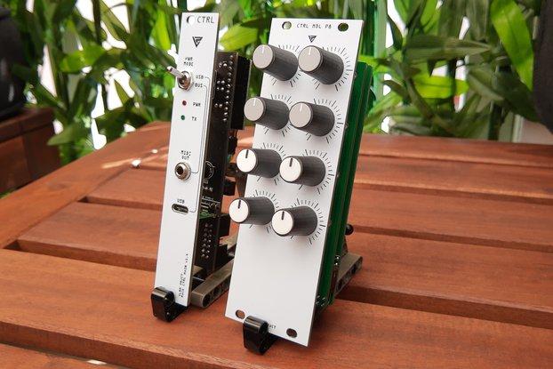 Modular Rack MIDI Controller