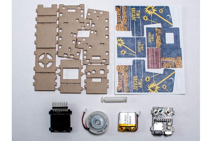 Tiny Arcade Clear DIY Kit