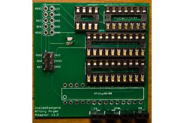 ATtiny Programmer Adapter PCB v1.2