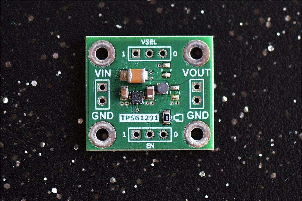 TPS61291 Low Iq Boost Converter (2.5V, 3V or 3.3V) 1