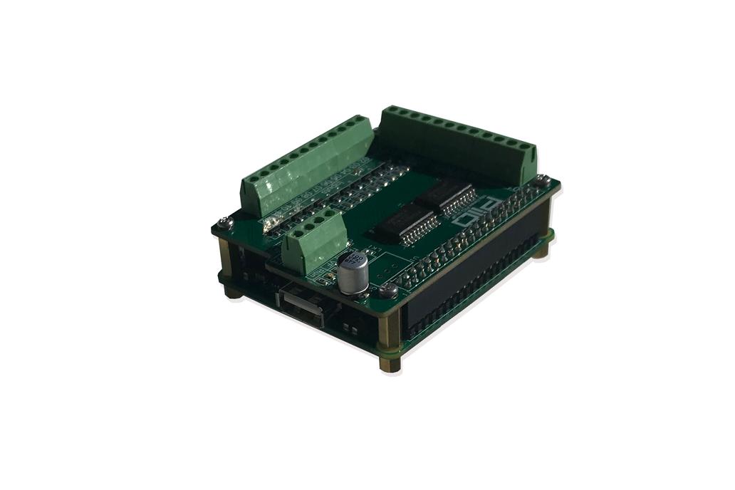 Raspberry Pi PiIO digital input / output board 1