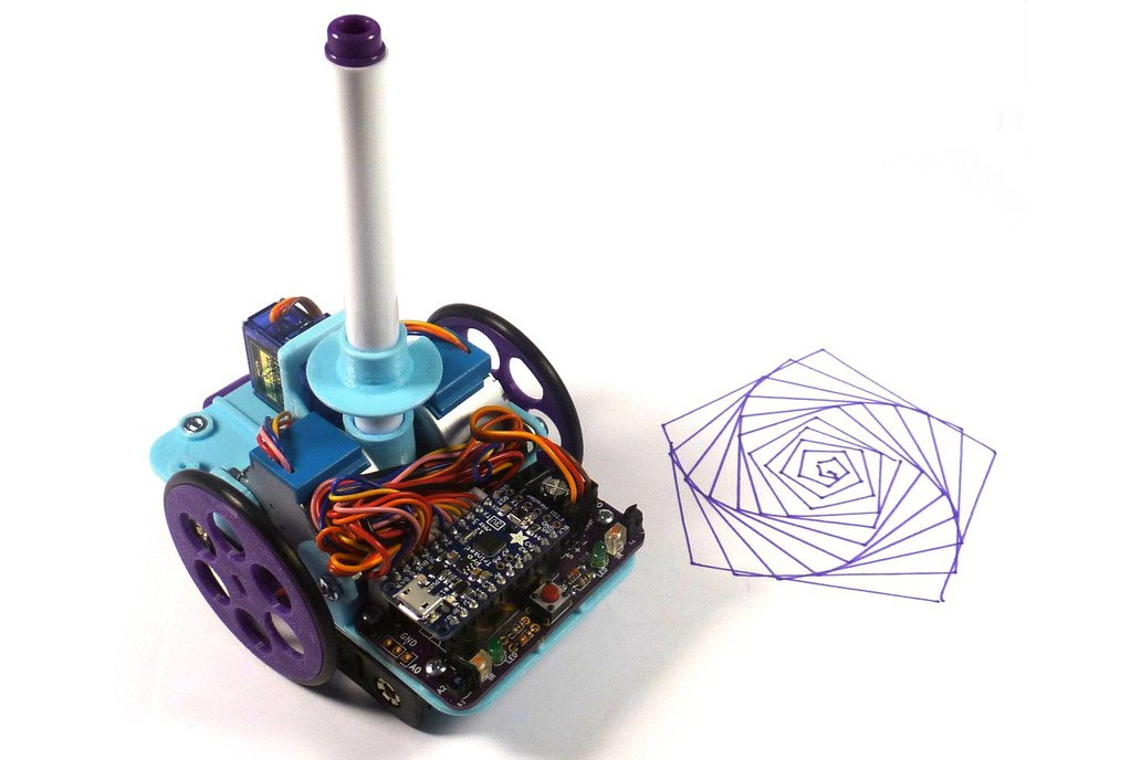 Open Source Turtle Robot (OSTR) 1