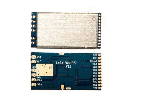 2PCS LORA1281F27 500mW 2.4G LoRa RF module