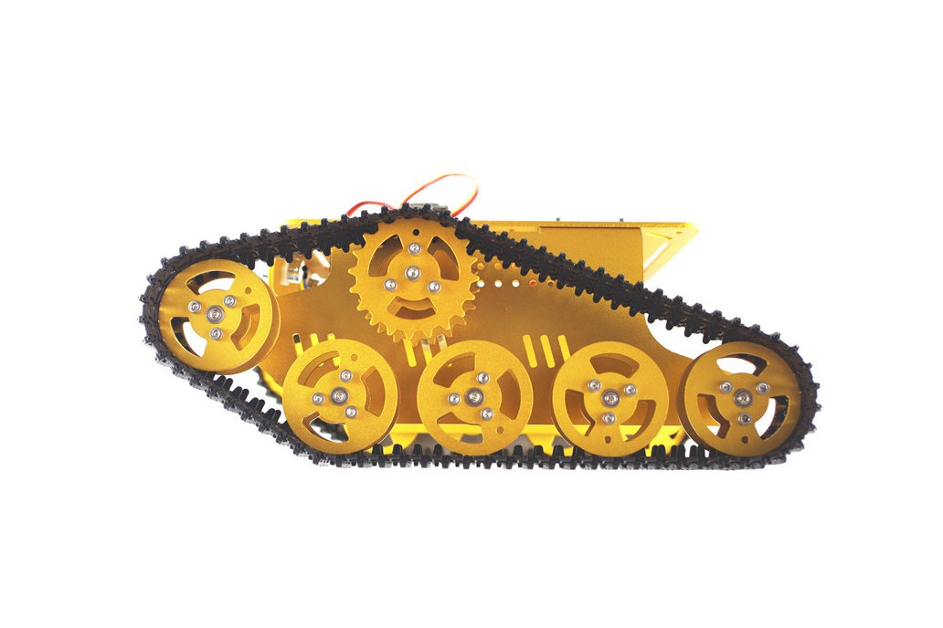 T300 Metal Wall-E Caterpillar Tank Chassis 2