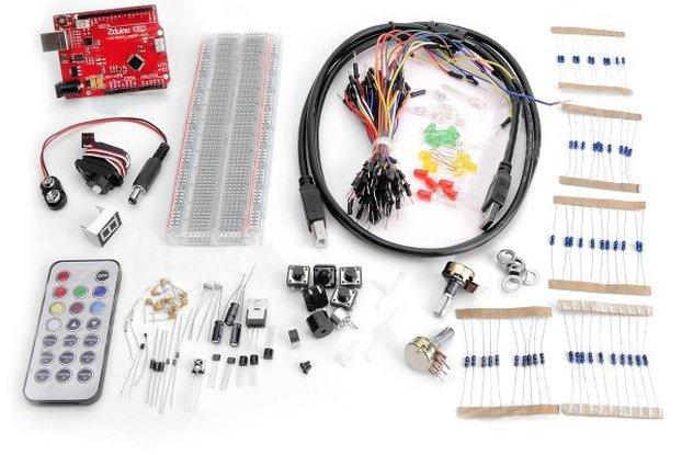 Arduino Compatible Starter Open Jumper Zduino Kit