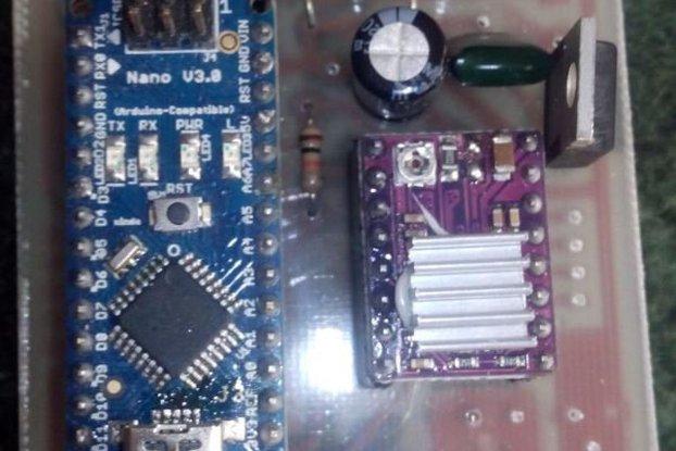 3D Scanner control board