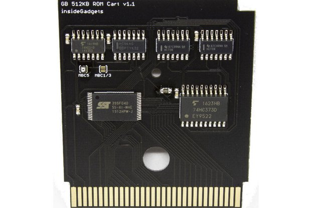 Gameboy 512KB Logic Based Flash Cart