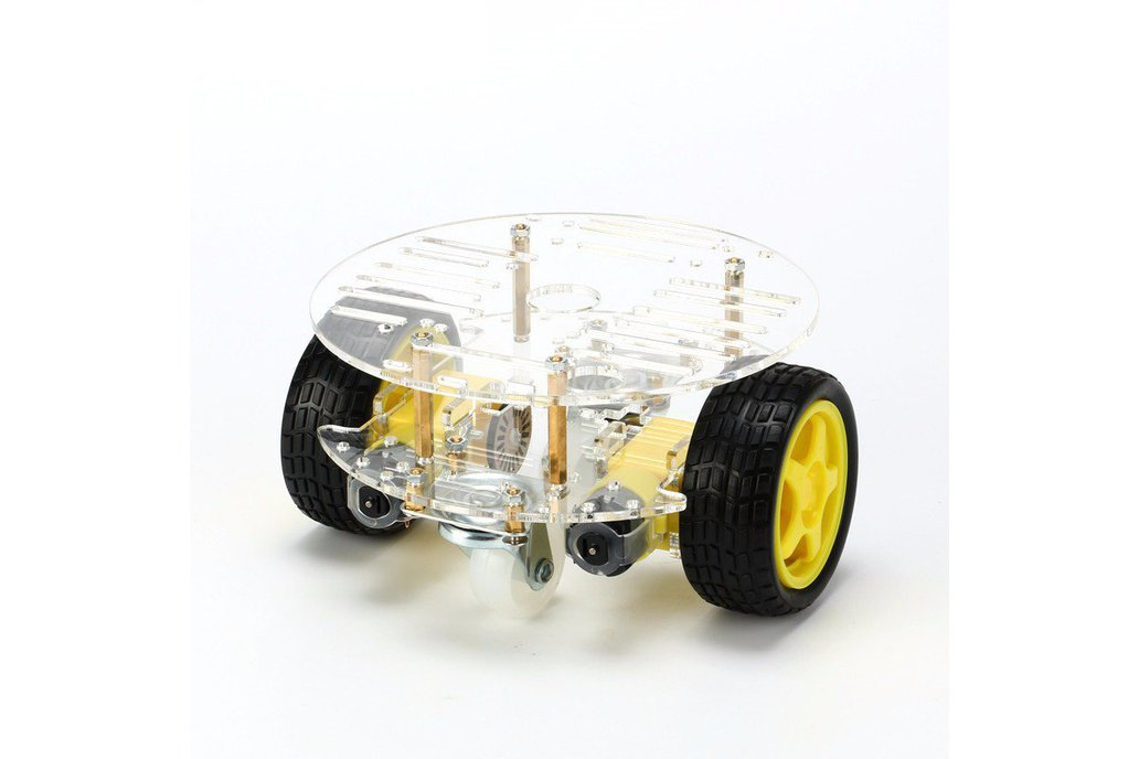 Round 2 Wheel-Drive Robot Car Kit 1