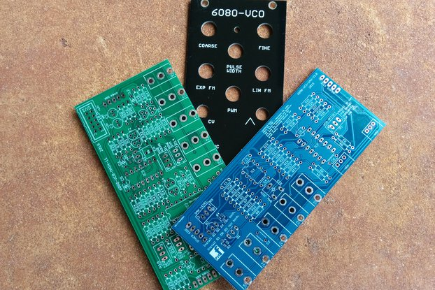 6080 VCO (Eurorack PCB Set)