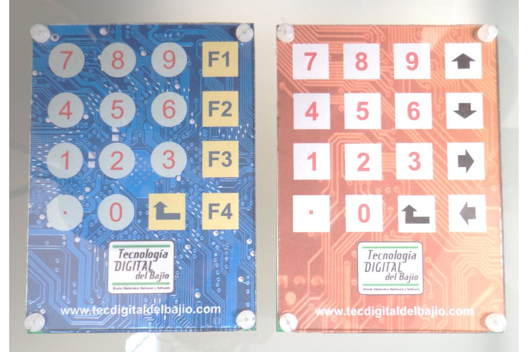 4x4 Capacitive keypad (touch) 1
