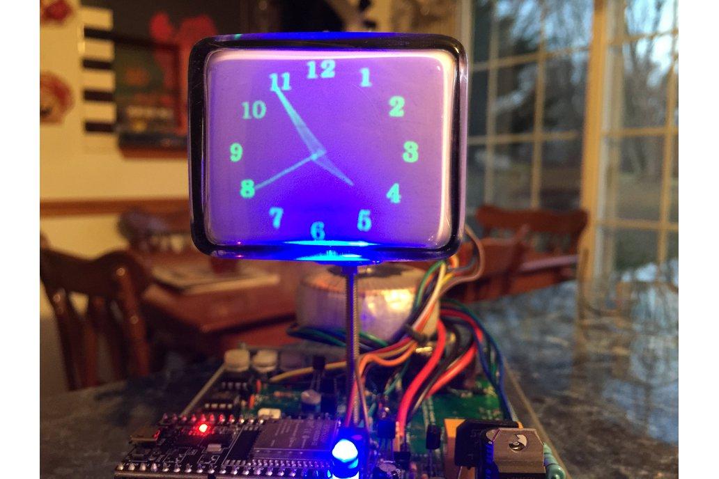 Mini Oscilloscope Clock 6Lo1i Cathode Ray Tube CRT 1