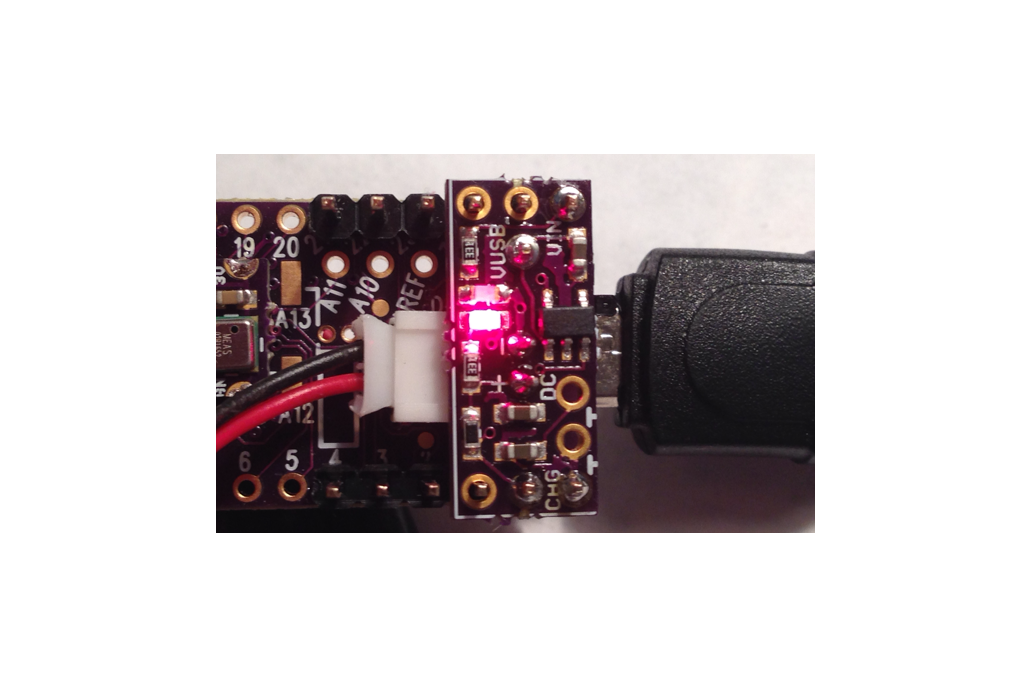 LiPo battery charger add-on for Teensy 3.1 1