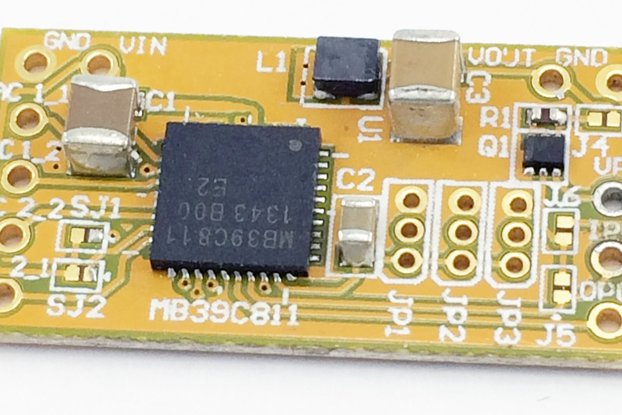 MB39C811 Energy Harvester Module!
