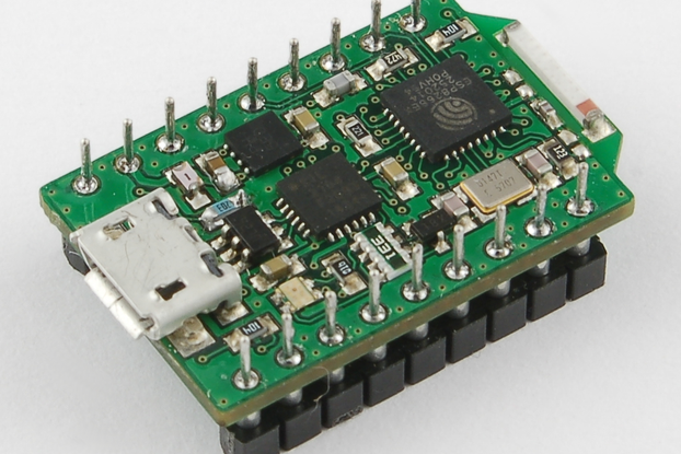 NodeIT ESP8266 controller board with onboard USB