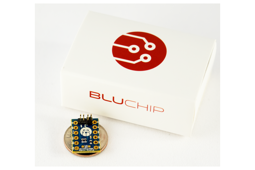 BluChip - Tiny Bluetooth 4.2 Developer Board 3