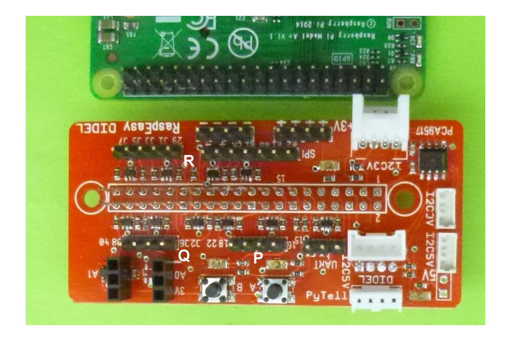 RaspEasy  - Raspberry experiment board 1