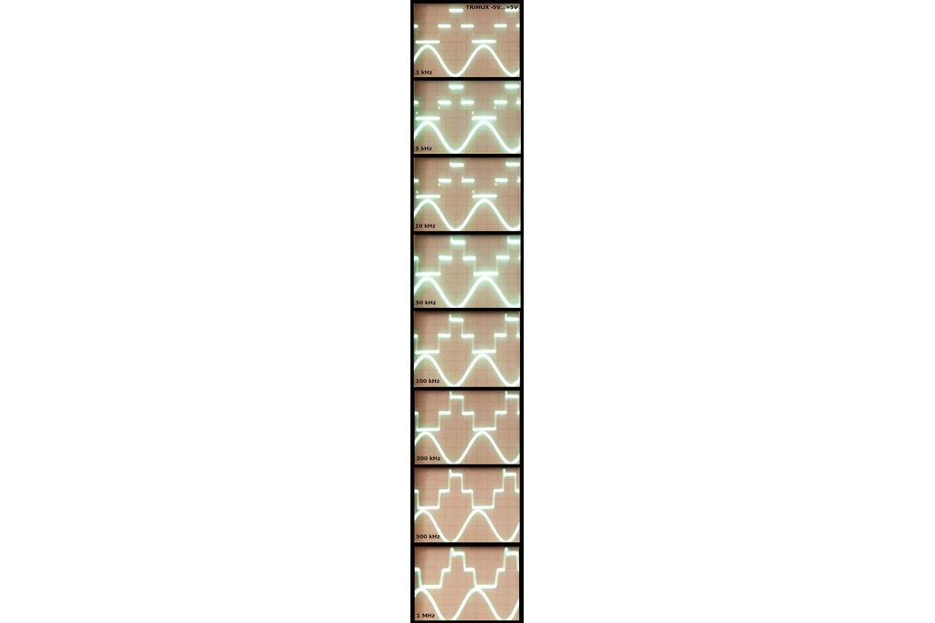 Dual balanced ternary multiplexer/demultiplexer 9