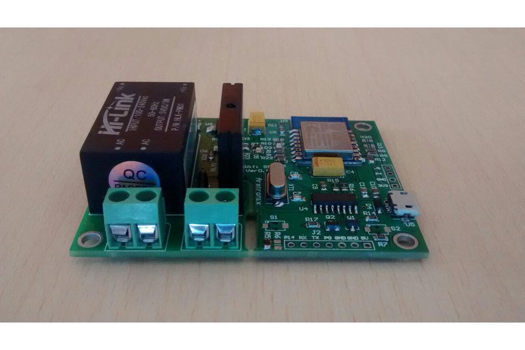 Wifi Esp8266 Solid State Relay SSR Board for IOT 5