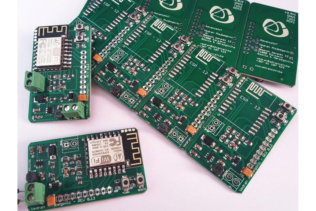 LOT of 75 Breakout Boards for ESP12 5V-12V 1