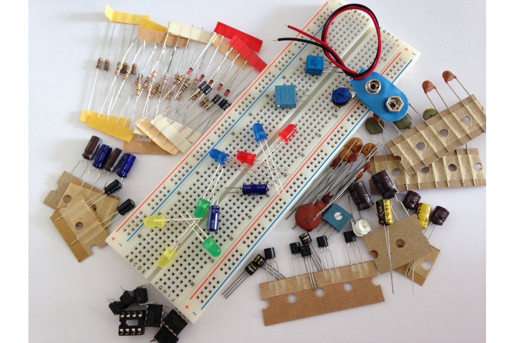 Solderless Breadboard & Analog ICs Kit #2 (#1200) 1