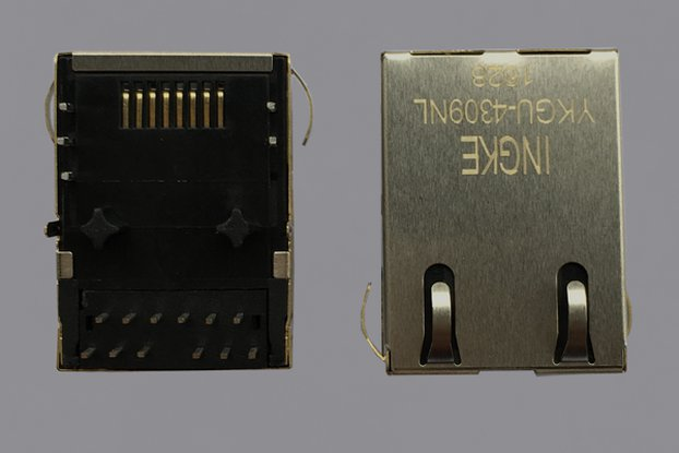 J0G-0001NL 1000BASE-T  RJ45 Ethernet Connector
