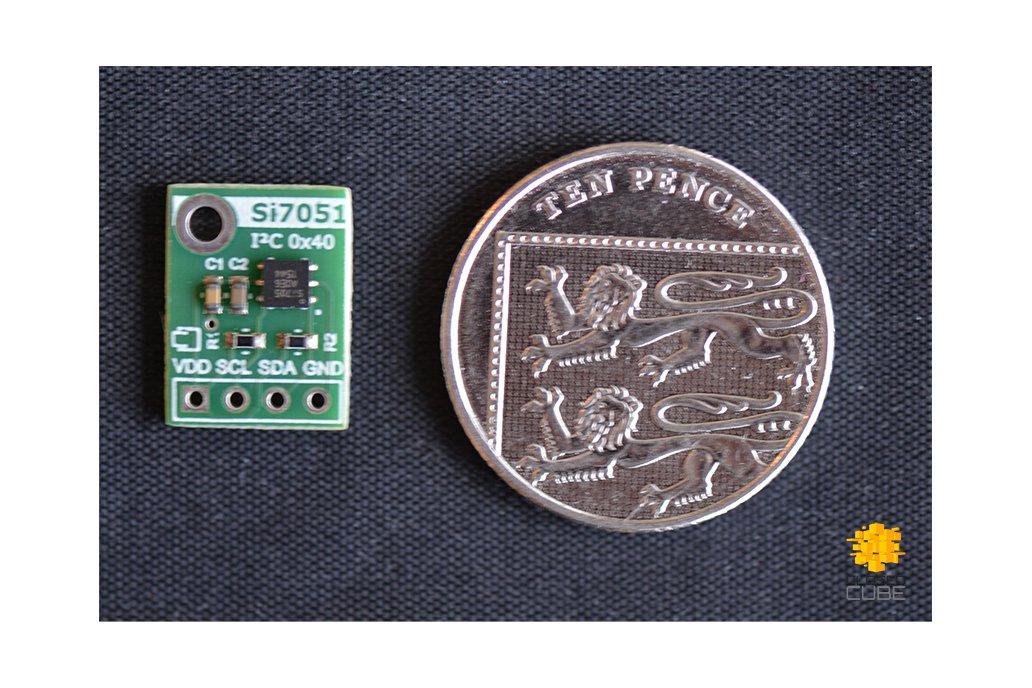 Si7051 ±0.1°C (max) Digital Temperature Sensor 3