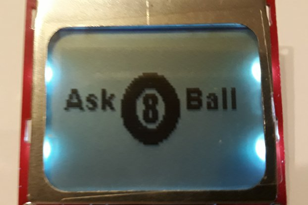 Magic 8 Ball Digital LCD Electronic Fortune Teller