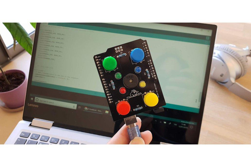 Kit for Simon Style Game Arduino Shield 1