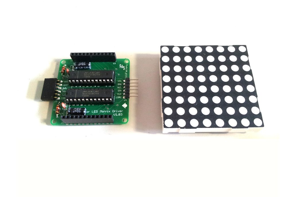 60mmx60mm Bicolor LED Matrix Driver Module DIY Kit 1