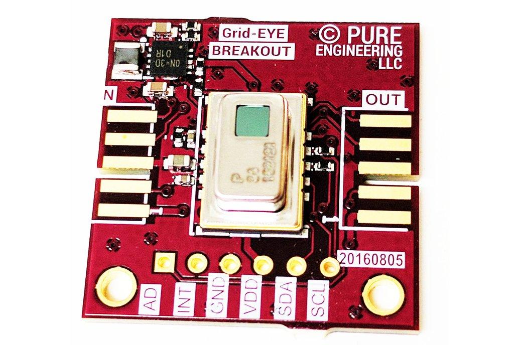Grid-EYE module Breakout 1