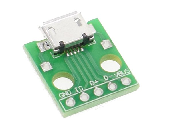 10pcs MICRO USB to DIP Adapter