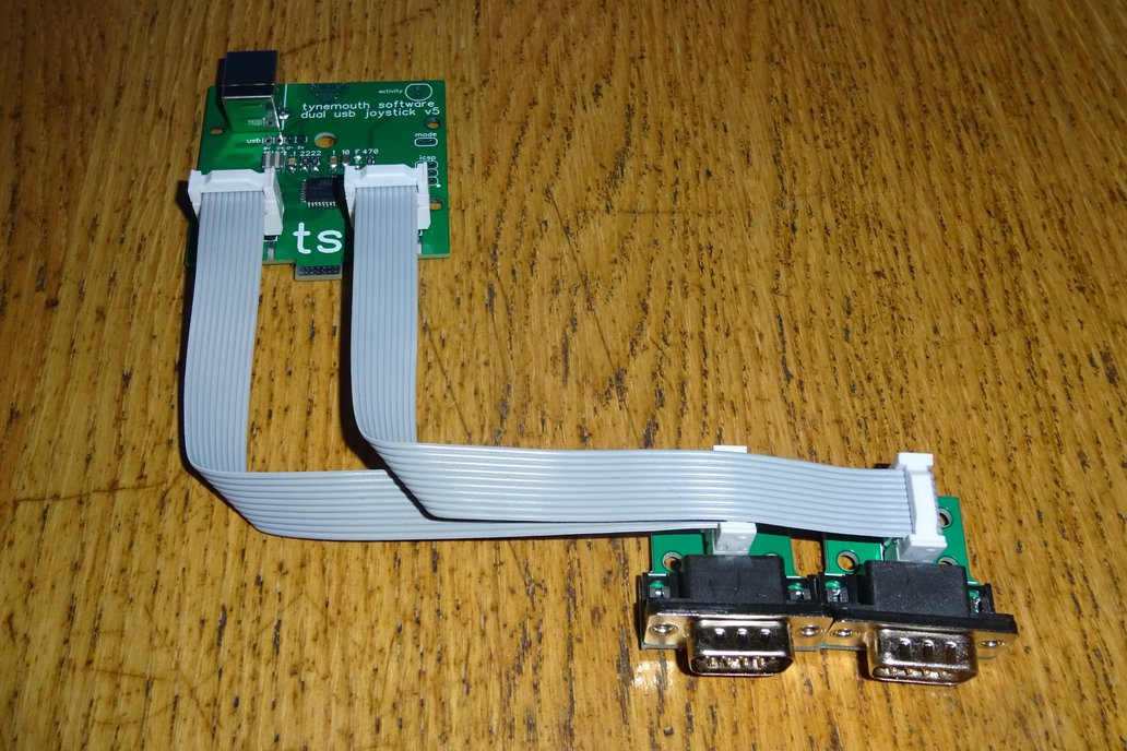 9 way D USB joystick adapter from Tynemouth Software on Tindie