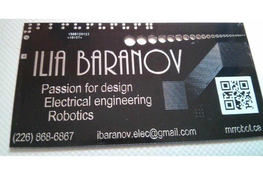 10x Custom PCB Business Card 4