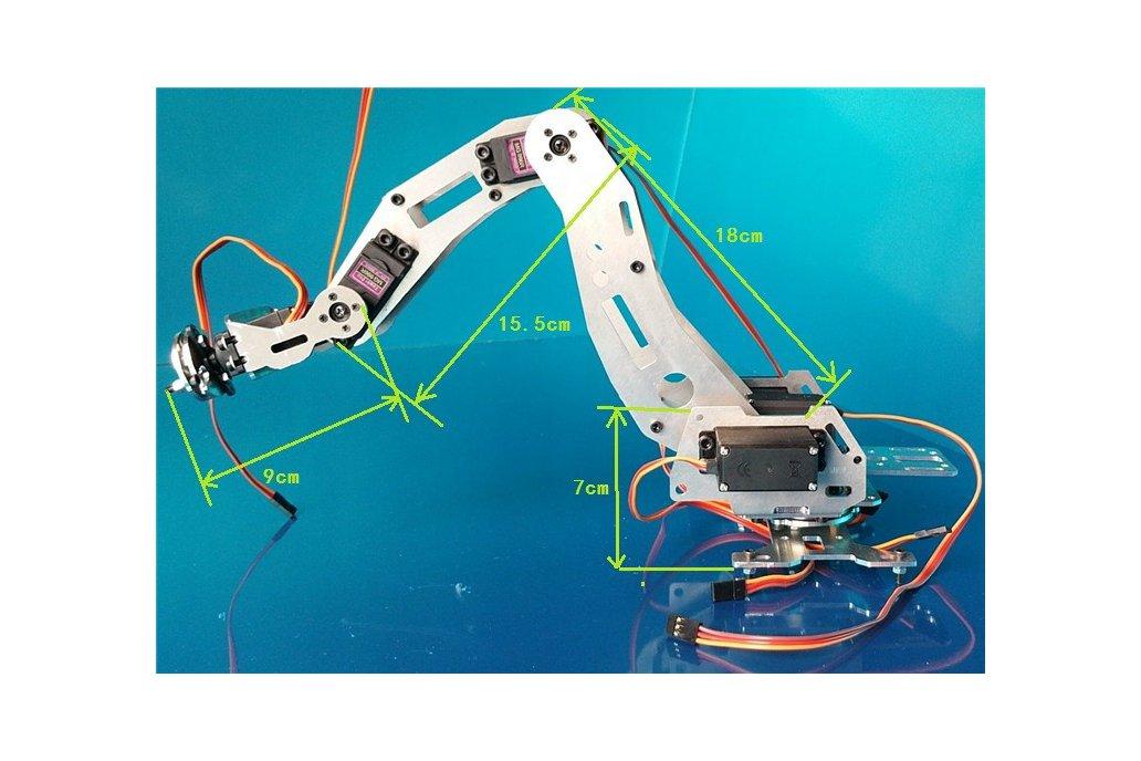 6 DoF Industrial Robot Arm Model 2