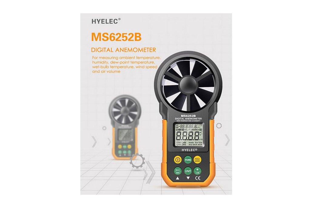 Multi. Digital Anemometer/Tachometer  5