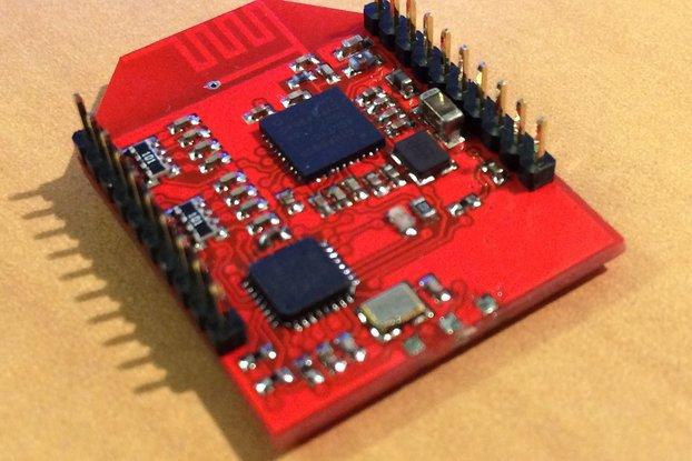 Spread spectrum (DSMX!) module on Xbee footprint