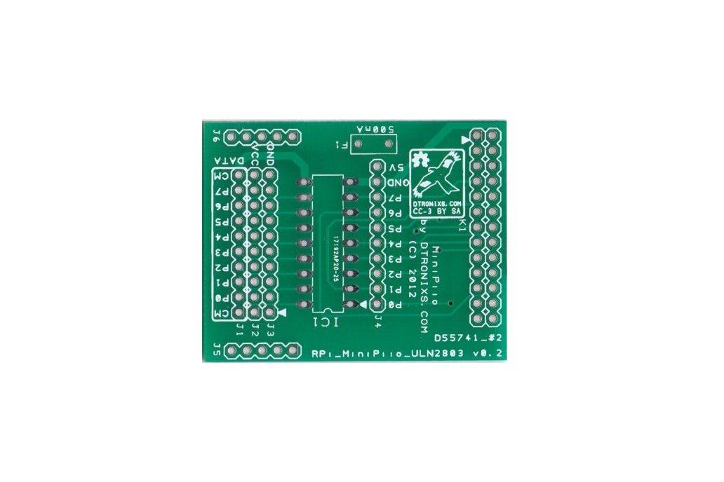 Raspberry PIIO - ULN2803 GVS board (PCB only) 1