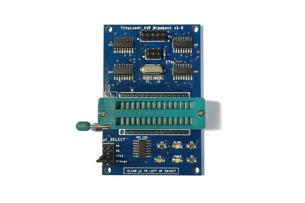 TinyLoadr AVR Breakout 1