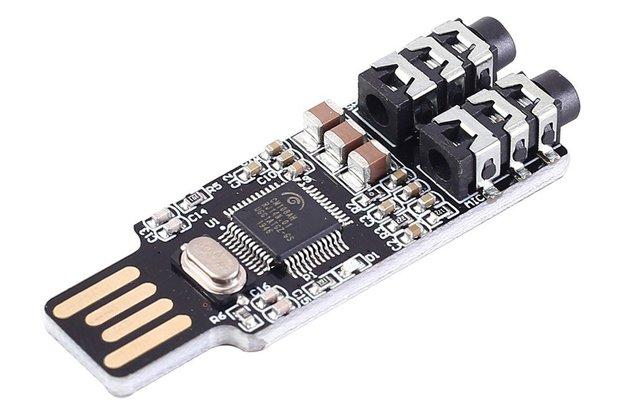 CM108 USB External Sound Card Free Driver_GY18070