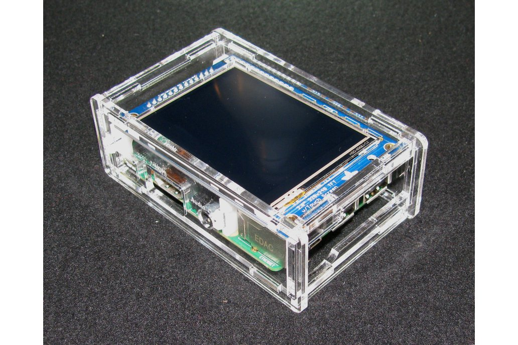 "Raspberry Pi A+/B+ 2.8"" PiTFT Case 4"