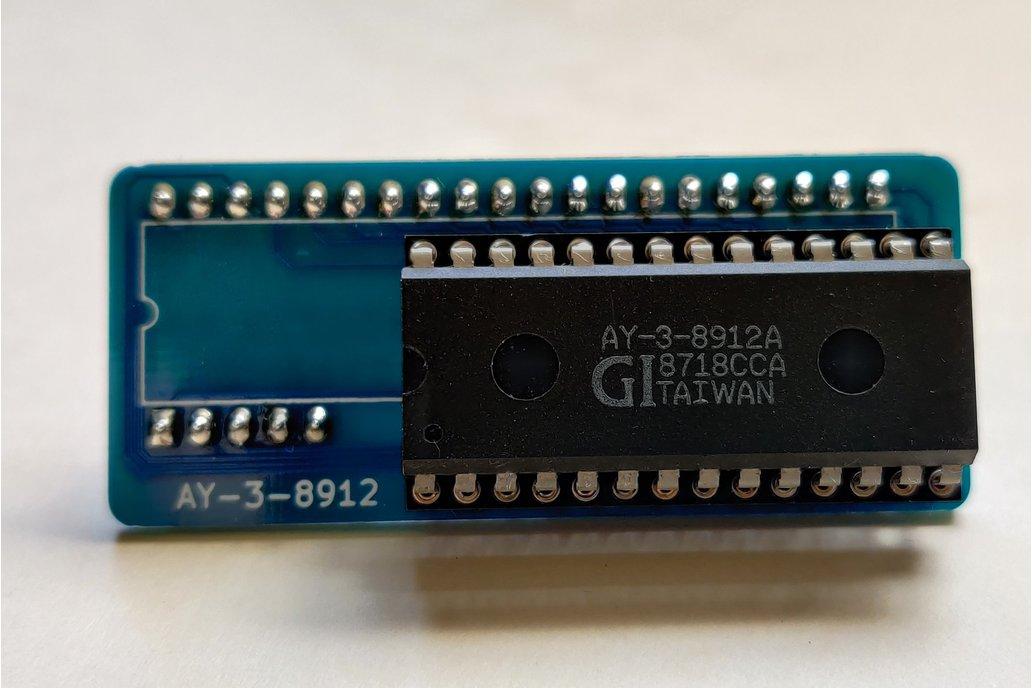 Adapter PCB for AY-3-8912 sound chip to AY-3-8910 1