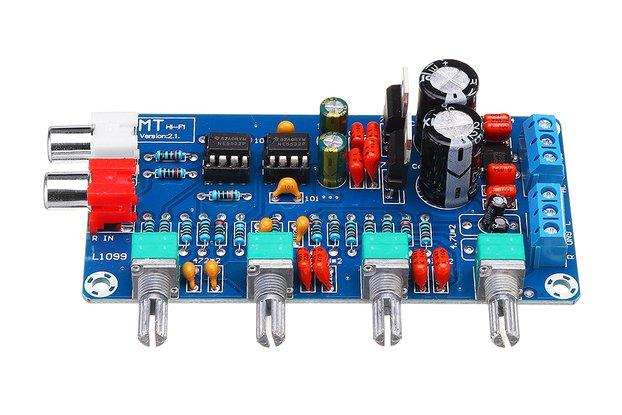 Amplifier Preamplifier Volume Tone Control Board