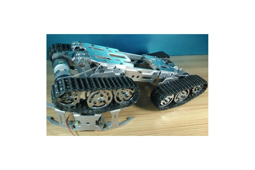Obstacle Avoidance barrowland  Tank Chassis 1