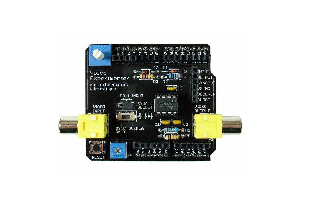 Video Experimenter Shield - Assembled 1